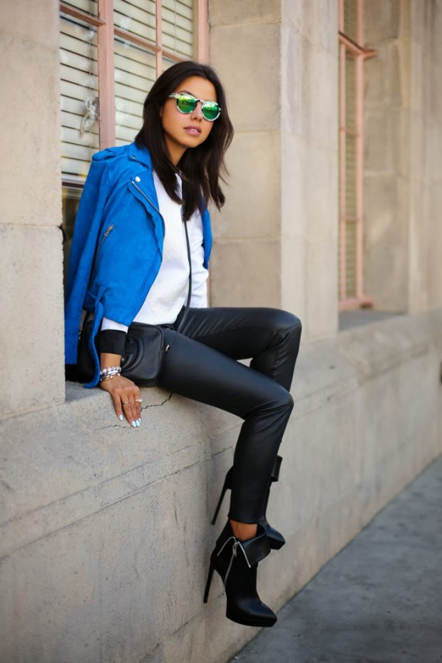 Cobalt Blue for Powerful Stylish Look 20 Outfit Ideas (15)