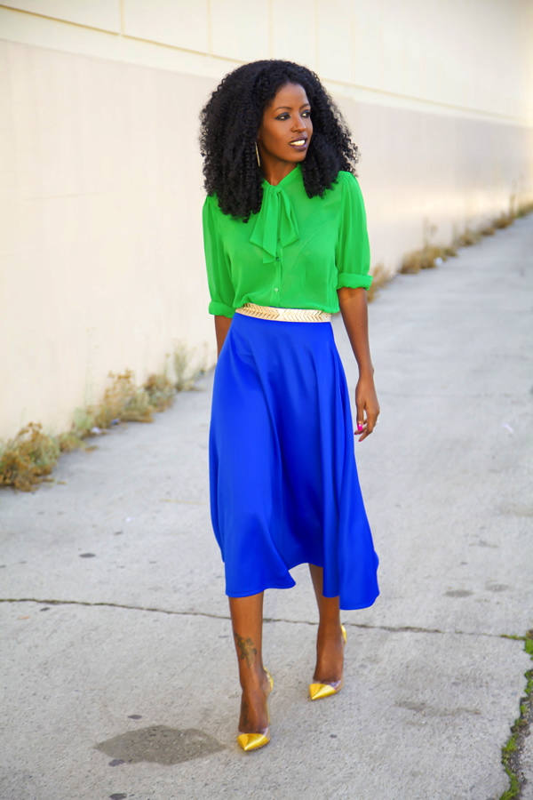 Cobalt Blue for Powerful Stylish Look 20 Outfit Ideas (17)