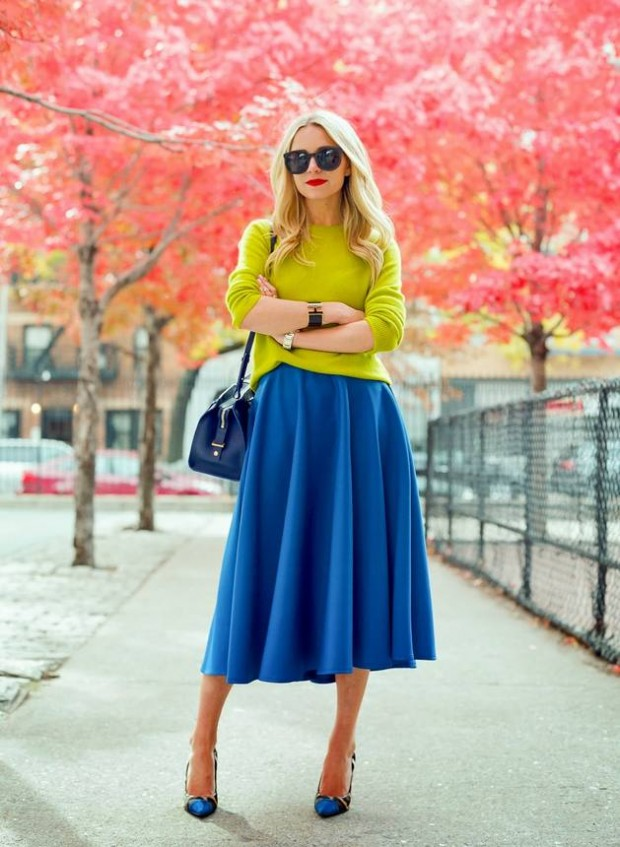 Cobalt Blue for Powerful Stylish Look 20 Outfit Ideas (18)