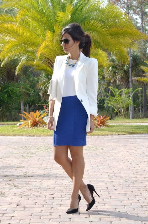 Cobalt Blue for Powerful Stylish Look 20 Outfit Ideas (19)