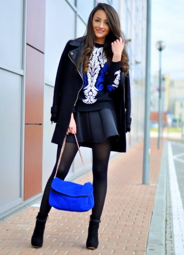 Cobalt Blue for Powerful Stylish Look 20 Outfit Ideas (3)