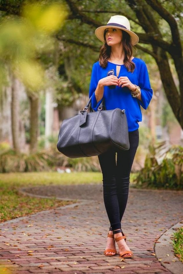 Cobalt Blue for Powerful Stylish Look 20 Outfit Ideas (4)