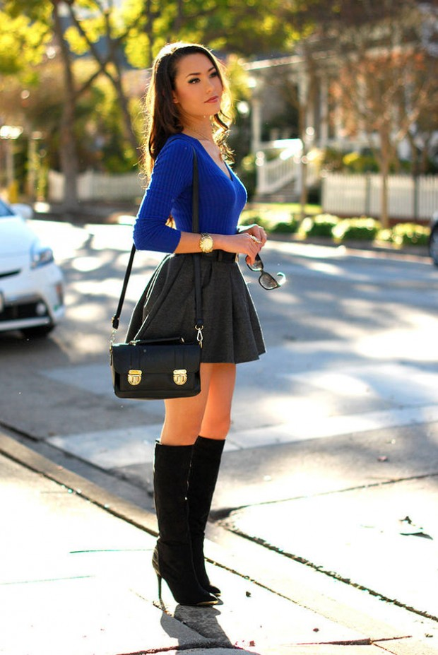 Cobalt Blue for Powerful Stylish Look 20 Outfit Ideas (7)
