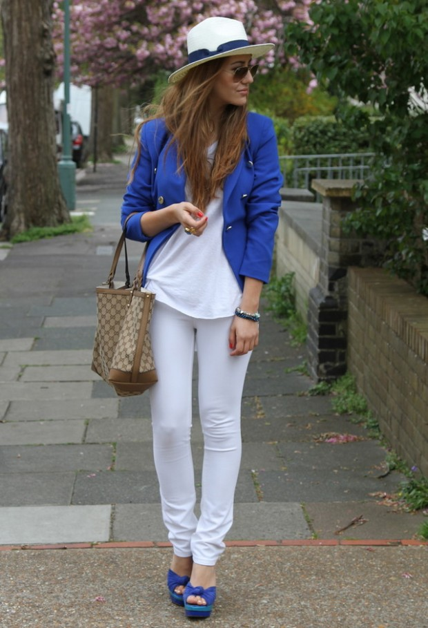 Cobalt Blue for Powerful Stylish Look 20 Outfit Ideas (8)