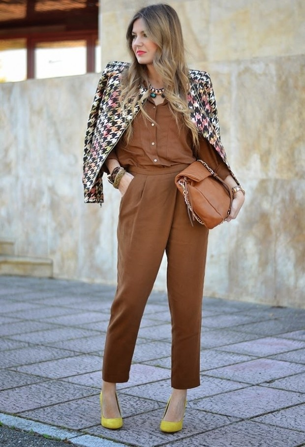 Fashion for Work 17 Lovely Office Outfit Ideas (6)