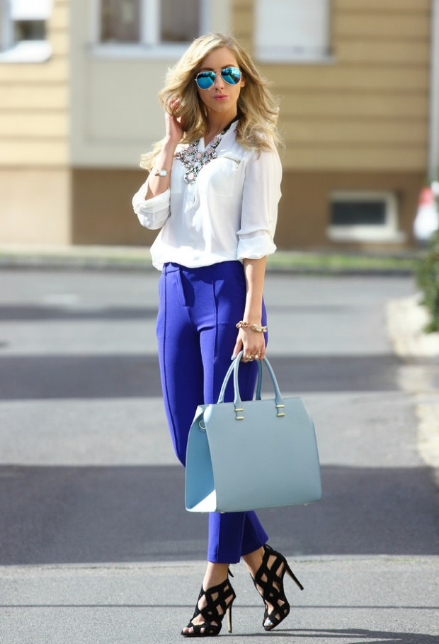 Fashion for Work 17 Lovely Office Outfit Ideas (9)