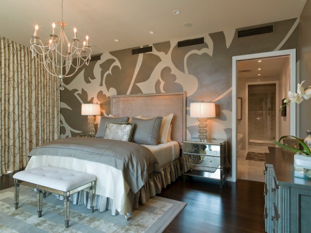21 Glamorous Master Bedroom Design Ideas