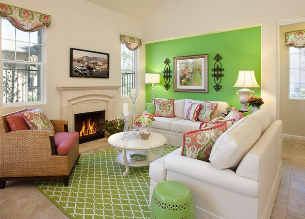 Green Details for Relaxing Interior Look (11)