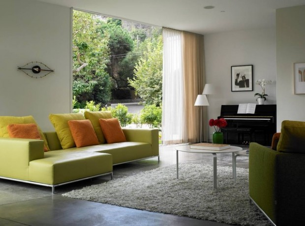 Green Details for Relaxing Interior Look (16)