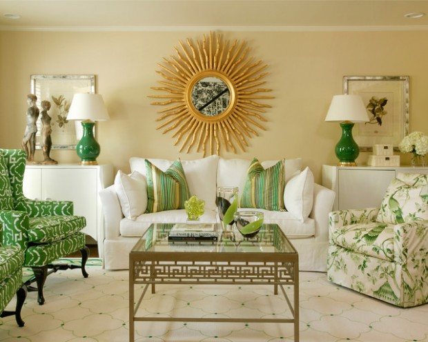 Green Details for Relaxing Interior Look (19)