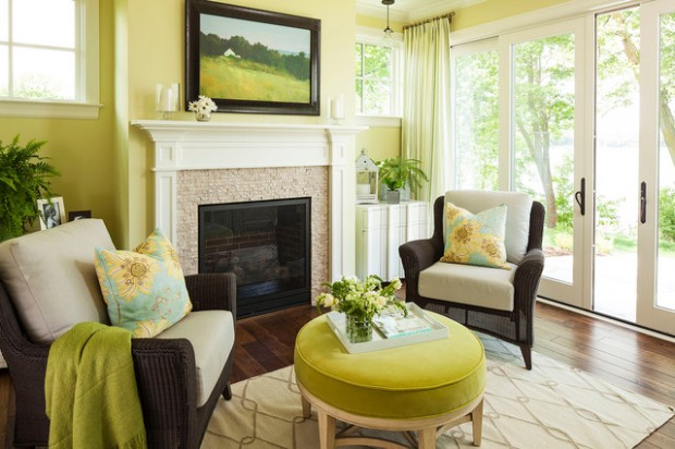 Green Details for Relaxing Interior Look (21)