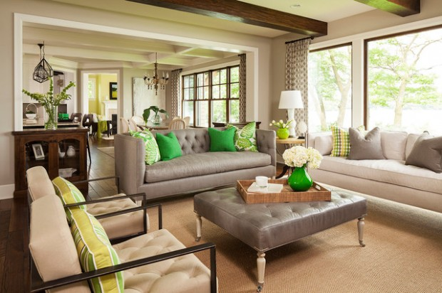 Green Details for Relaxing Interior Look (22)