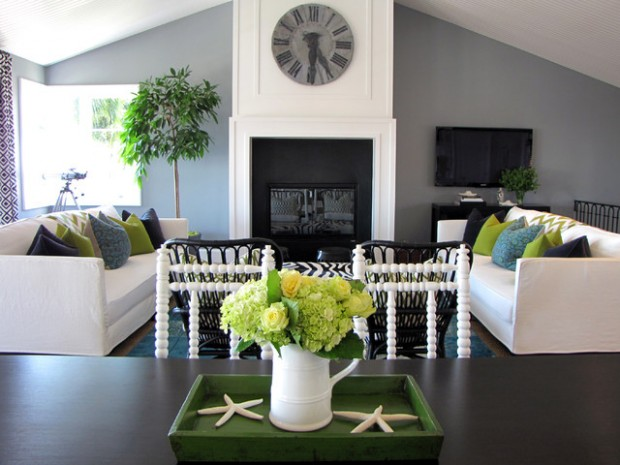 Green Details for Relaxing Interior Look (3)