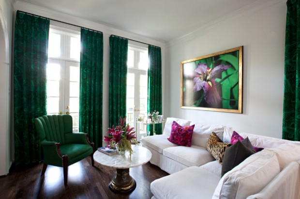 Green Details for Relaxing Interior Look (6)