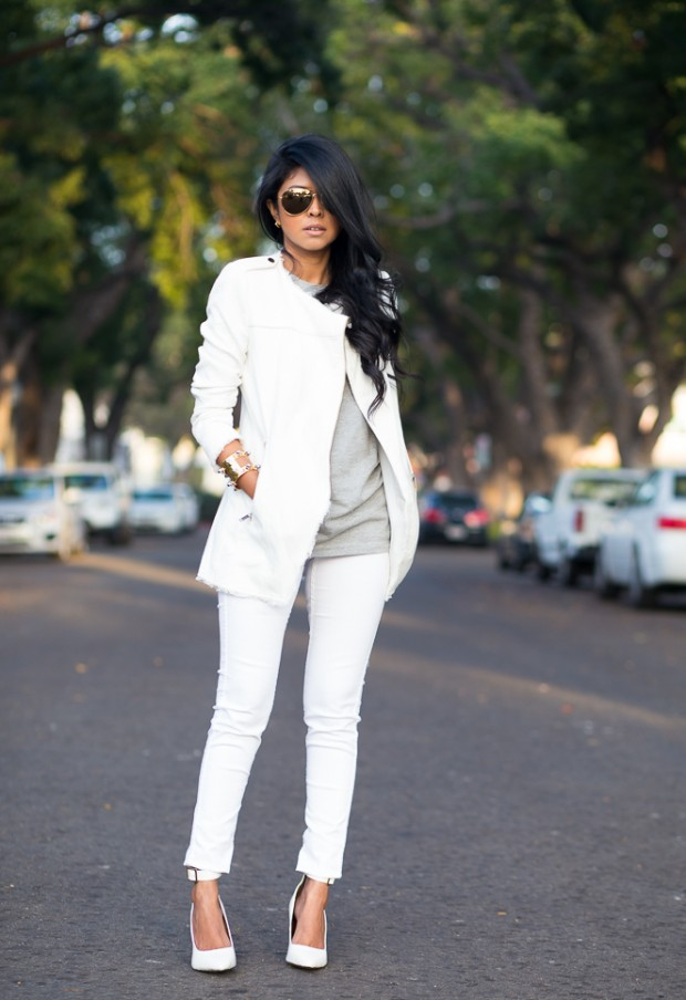 How to Wear White Jeans 17 Stylish Outfit Ideas (17)