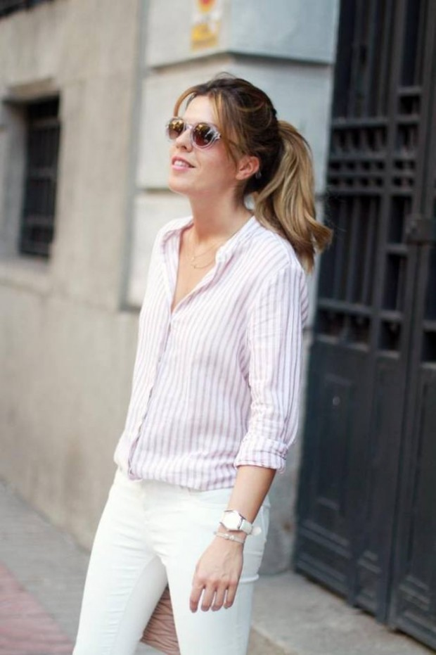How to Wear White Jeans 17 Stylish Outfit Ideas (3)