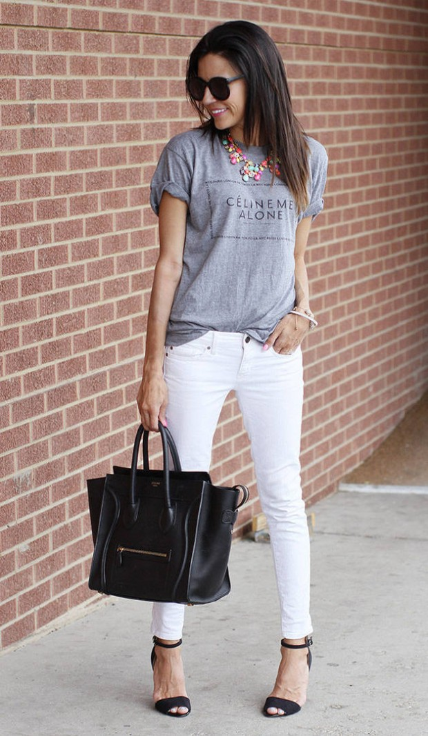 How to Wear White Jeans 17 Stylish Outfit Ideas (4)