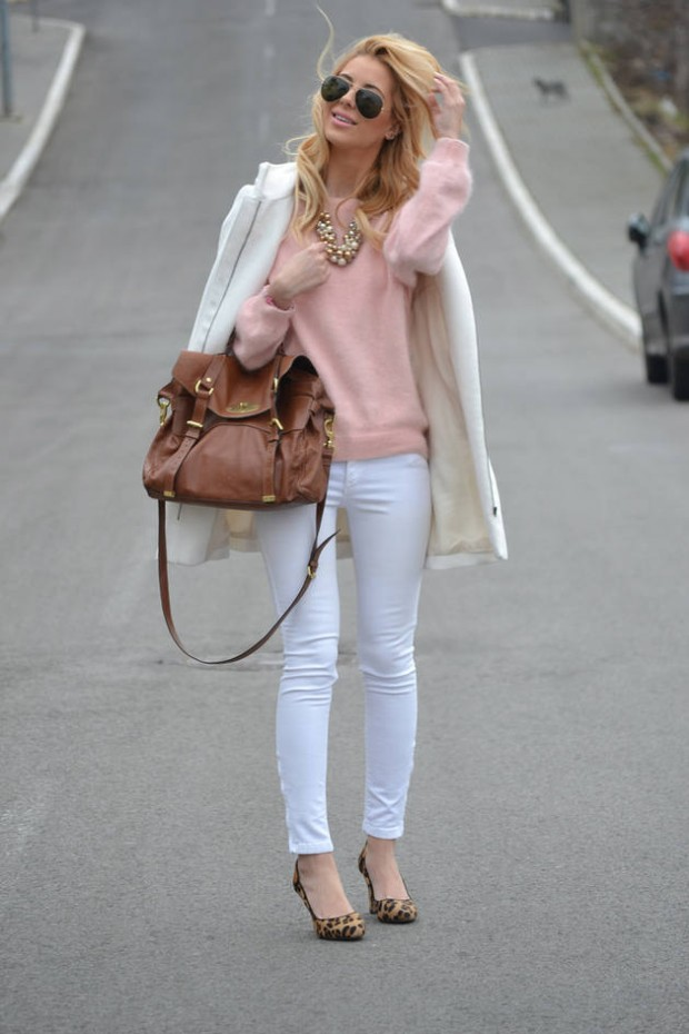 How to Wear White Jeans 17 Stylish Outfit Ideas (6)