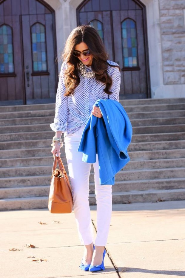 How to Wear White Jeans 17 Stylish Outfit Ideas (7)