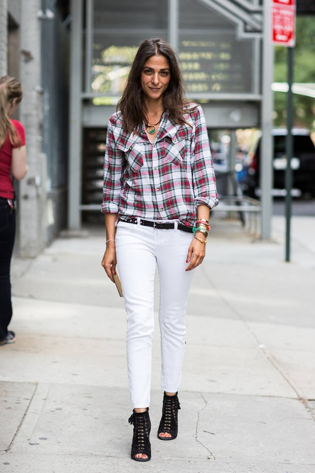 How to Wear White Jeans: 17 Stylish Outfit Ideas - Style ...