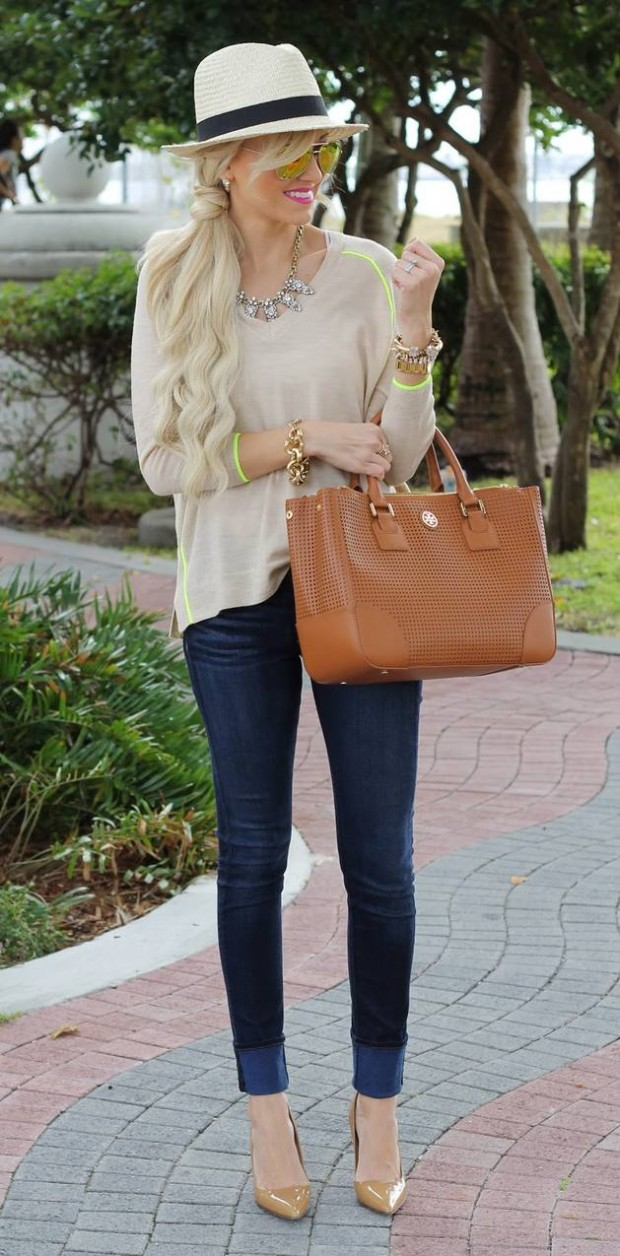 Jeans for Casual Look 19 Amazing Outfit Ideas  (2)