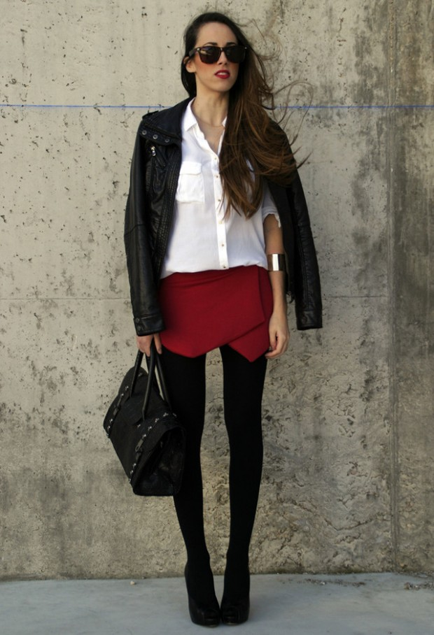 Skort For Modern Look 17 Stylish Outfit Ideas Style Motivation