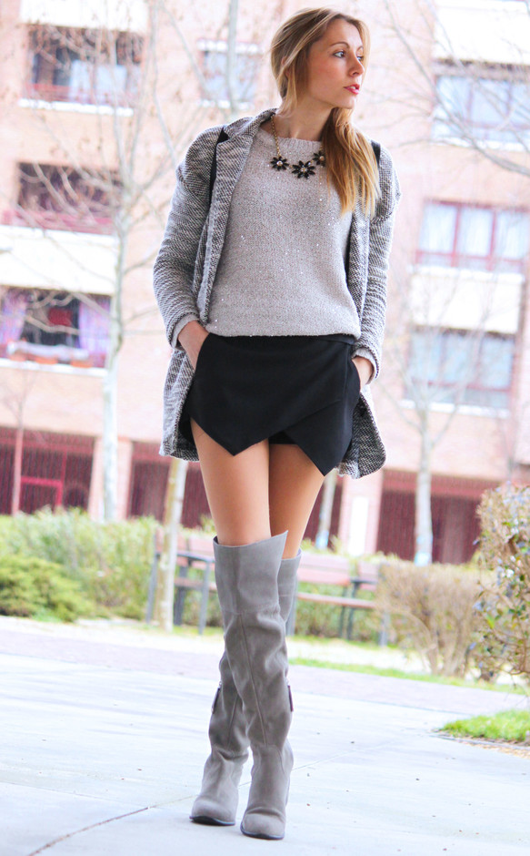 Skort for Modern Look 17 Stylish Outfit Ideas (16)