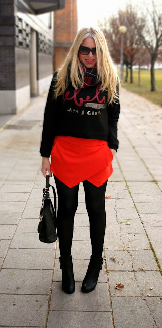 Skort for Modern Look 17 Stylish Outfit Ideas (17)