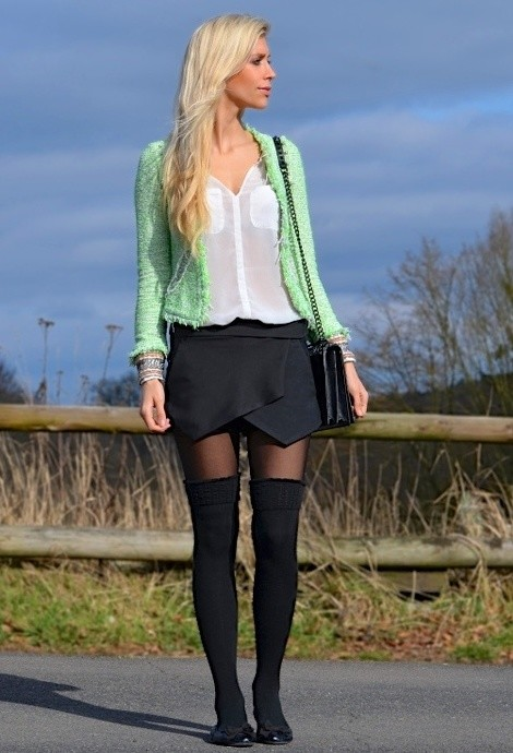 Skort for Modern Look 17 Stylish Outfit Ideas (6)