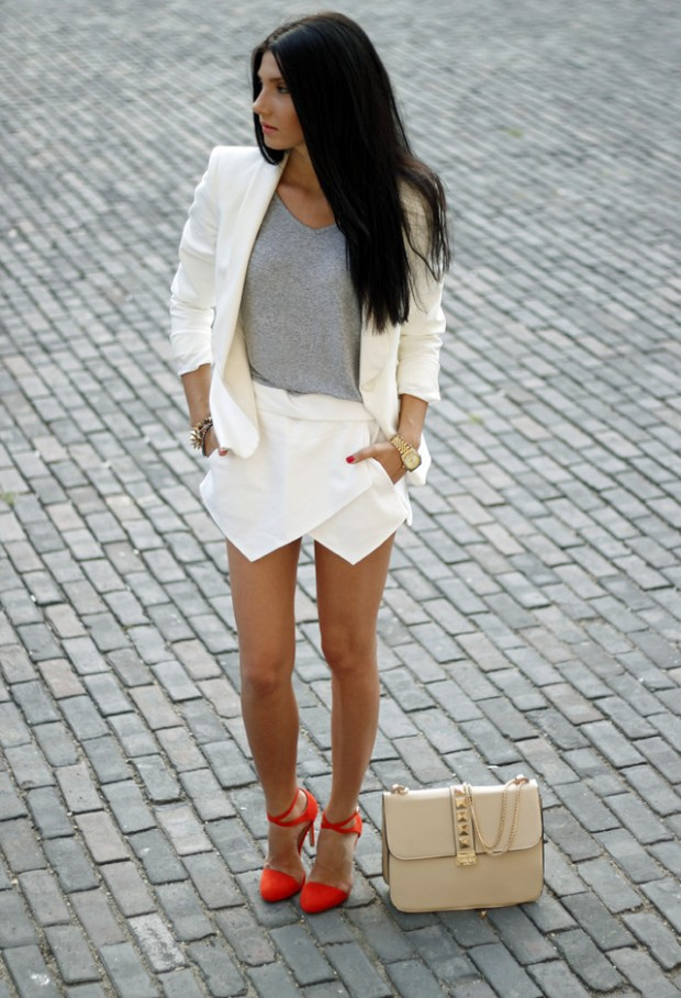 Skort for Modern Look 17 Stylish Outfit Ideas (8)