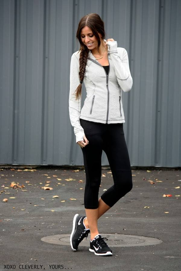 Sneakers for Trendy Chic Look 16 Sporty and Stylish Outfit Ideas (15)