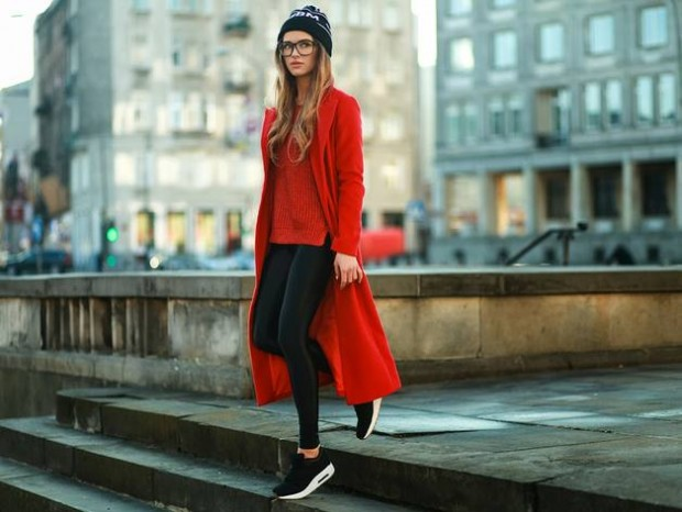 Sneakers for Trendy Chic Look 16 Sporty and Stylish Outfit Ideas (16)