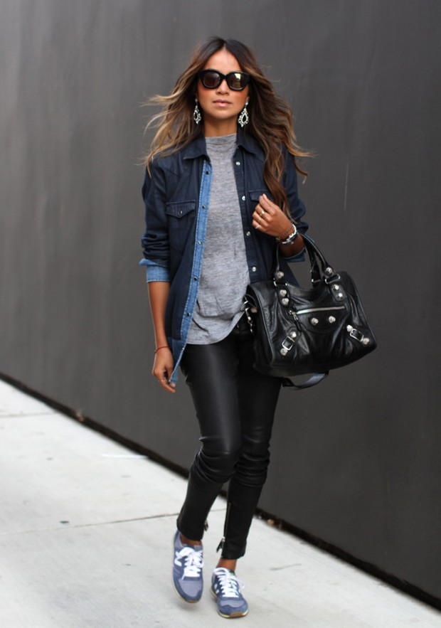 Sneakers for Trendy Chic Look 16 Sporty and Stylish Outfit Ideas (5)