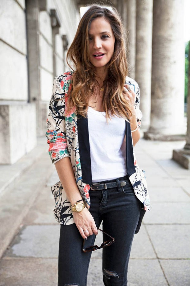 Spring Most Wanted: Floral Jackets and Blazers
