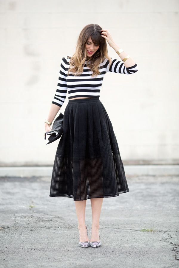 Stripes for Trendy Chic Look 20 Stylish Outfit Ideas (12)