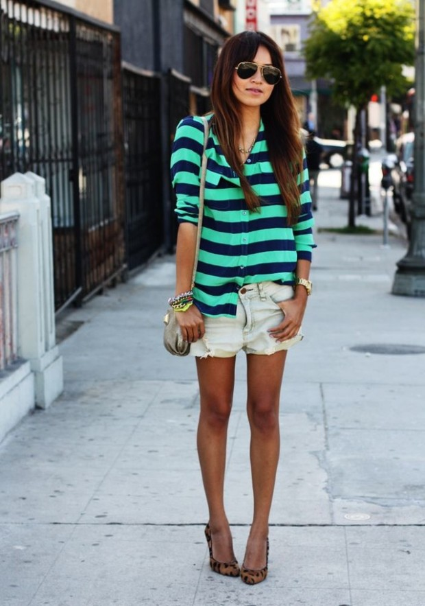 Stripes for Trendy Chic Look: 20 Stylish Outfit Ideas