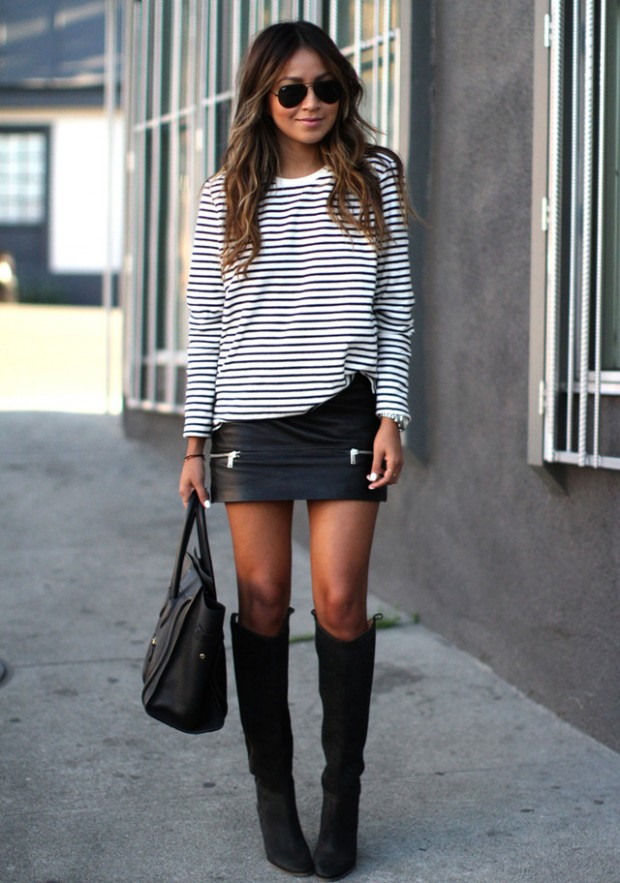 Stripes for Trendy Chic Look 20 Stylish Outfit Ideas (16)