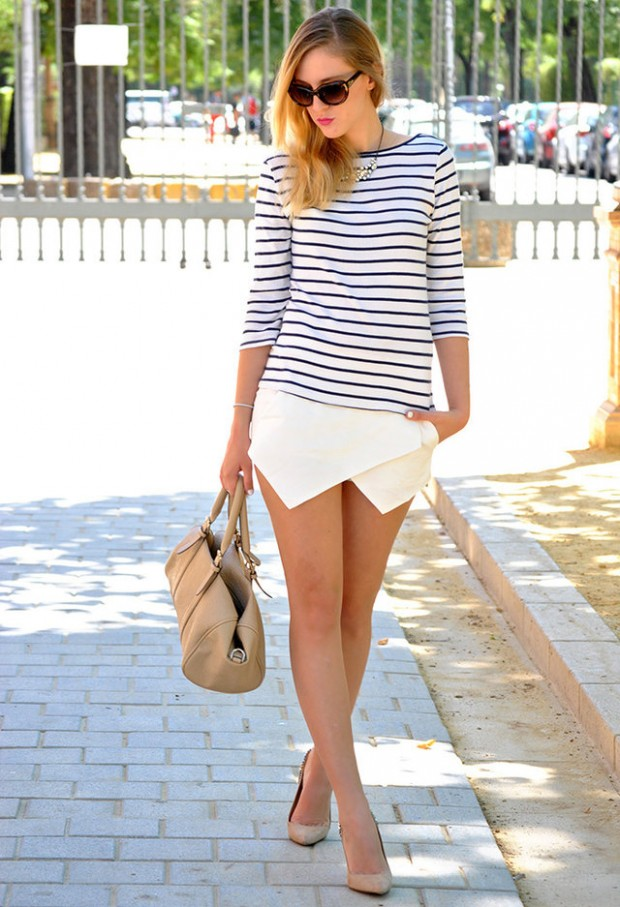 Stripes for Trendy Chic Look 20 Stylish Outfit Ideas (18)