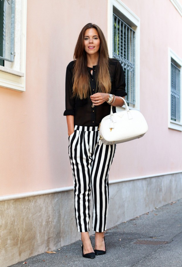 Stripes for Trendy Chic Look 20 Stylish Outfit Ideas (2)