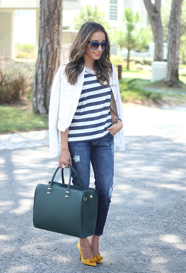 Stripes for Trendy Chic Look: 20 Stylish Outfit Ideas ...