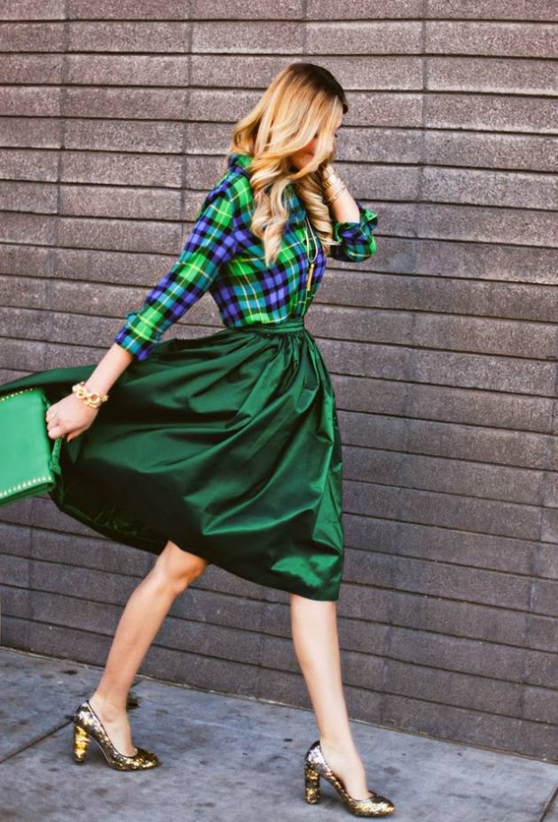 Wear Green for St. Patrick Day 16 Stylish Outfit Ideas (1)