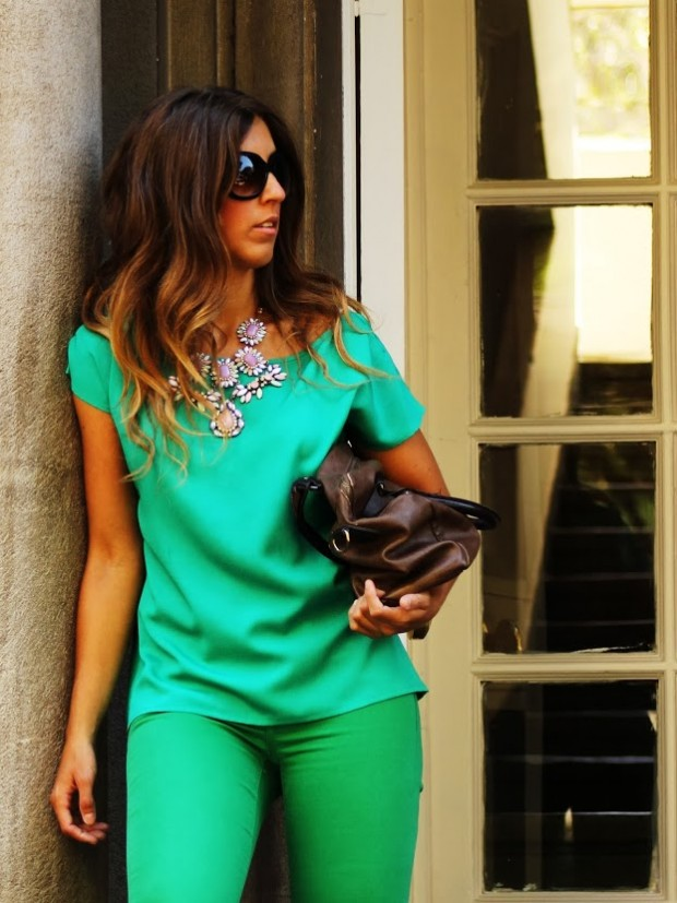 Wear Green for St. Patrick Day 16 Stylish Outfit Ideas (10)