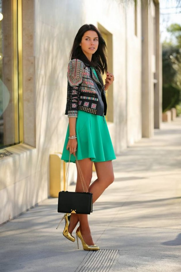 Wear Green for St. Patrick Day 16 Stylish Outfit Ideas (15)