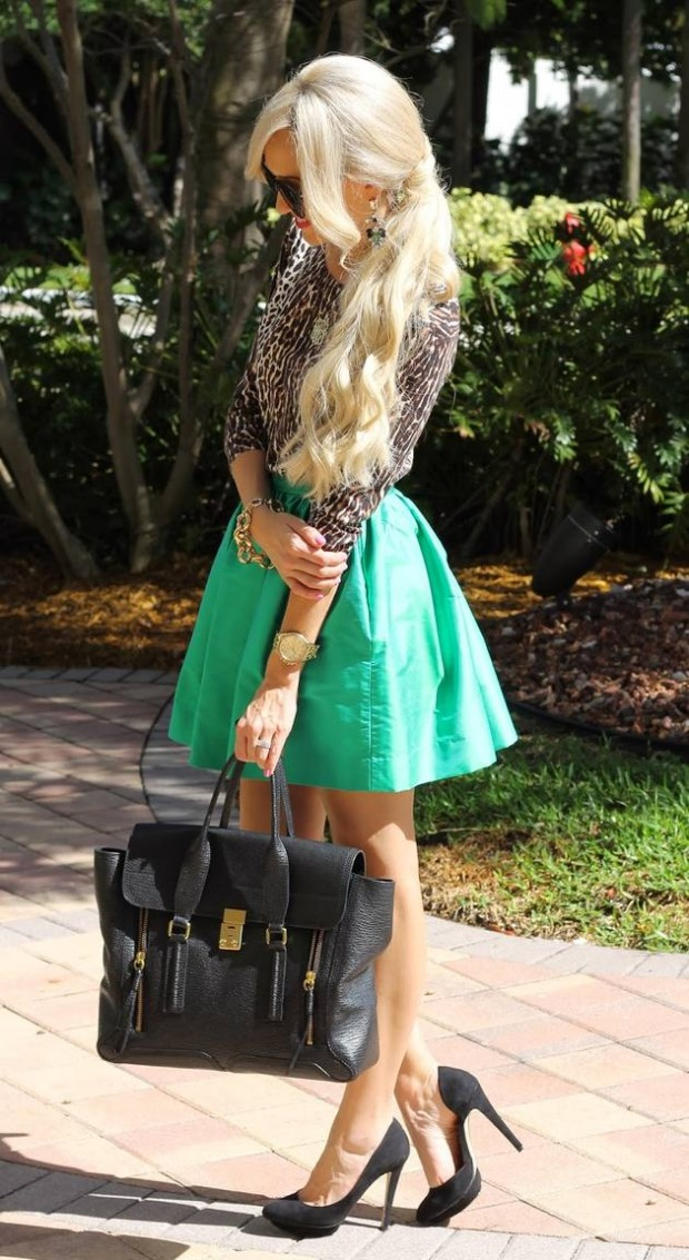 Wear Green for St. Patrick Day 16 Stylish Outfit Ideas (3)