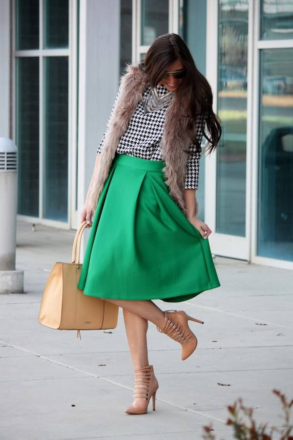 Wear Green for St. Patrick Day 16 Stylish Outfit Ideas (4)