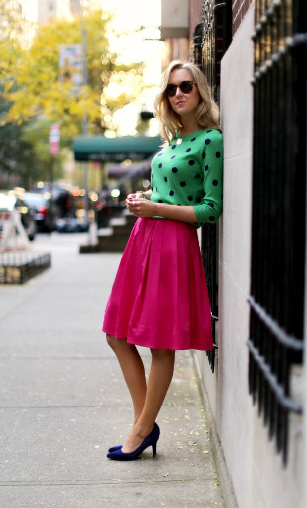 Wear Green for St. Patrick Day 16 Stylish Outfit Ideas (9)