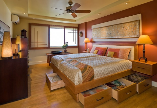 17 Elegant Asian Style Bedroom Design Ideas - Style Motivation