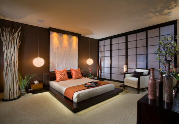 17 Elegant Asian Style Bedroom Design Ideas - elegant bedroom, bedroom design, bedroom, Asian style bedroom, Asian style