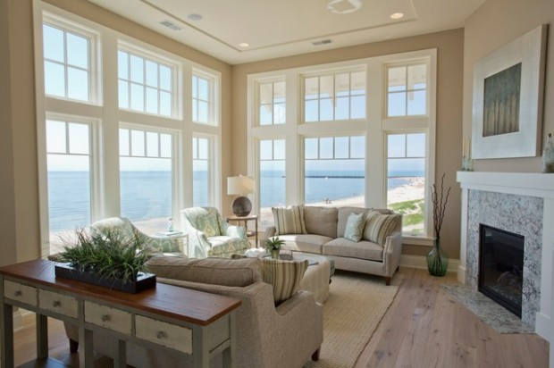 Beach Cottage Living Room Design Ideas  Best House Design Ideas
