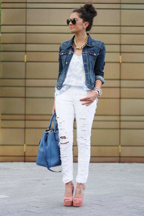 Denim Jacket - Must Have for Spring/Summer - Style Motivation